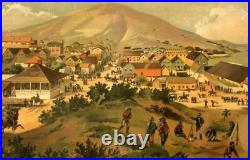 CALIFORNIA SAN FRANCISCO / San Francisco in July 1849 from Present Site of S. F