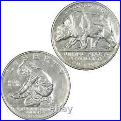 California Diamond Jubilee Commemorative Half Dollar 1925 S AU 90% Silver 50c