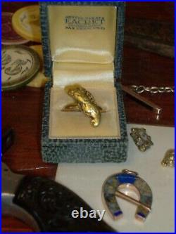 California Gold Nugget Antique Ring California Gold Rush San Francisco