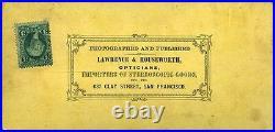California, Lawrence & Houseworth (1860s) Well's Fargo & Co, San Francisco, CA