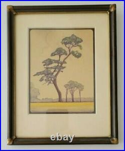 Charles Charlton Antique Early California Arts and Crafts San Francisco Painting