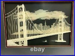DEBBIE PATRICK GOLDEN GATE BRIDGE 3-D Signed LTD 51/750 San Francisco, Calif