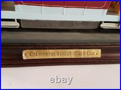 Danbury Mint California & Market Street Cable Car Van Ness Ave San Francisco #59