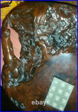 Designer San Francisco Ca California Redwood Tree Burl Desk top Telephone phone