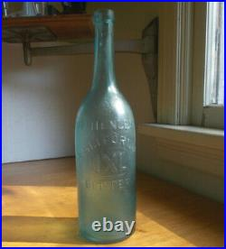 Dr. Henley's California IXL Bitters W. Frank 1870 Applied Lip San Francisco Bottle