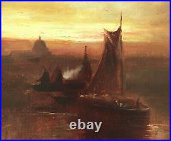 Early California San Francisco Charlotte Elizabeth Caprico Marais 1908 Painting