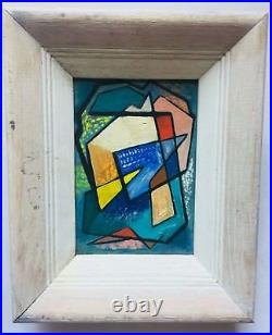 Early Modernism Abstract Painting by Adelaide Cadogan, San Francisco, California