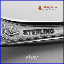 Enamel Bowl San Francisco California Souvenir Spoon 1900 Sterling Silver