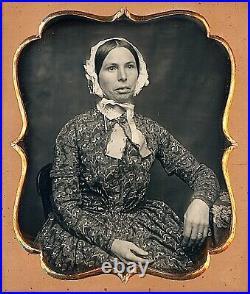 Female Daguerreotypist San Francisco, California 1/6 Plate Daguerreotype G408