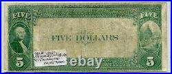 Fr. 574 1882 Vb $5 Ch #5105 National Bank Note San Francisco, California Vg