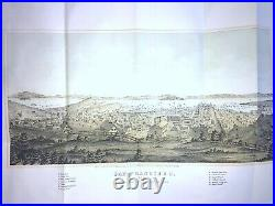 GENUINE 1856 MAP OF San Francisco, PUBLISHED BY H. BILL SAME YEAR