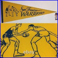 Golden State Warriors California San Francisco NBA Pennant Basketball 11.5x29.5