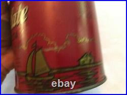 Guittard Old Dutch Chocolate Cocoa Vintage Tin, Unopened, San Francisco, Calif