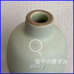 HEATH CERAMICS Flower Vase Green Pottery USA San Francisco EDITH HEATH
