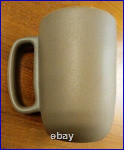 HEATH CERAMICS Large Mug Cup Slate/Green Pottery USA San Francisco 12oz Retired