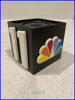 KNTV 11 News NBC Bay Area 3D Mic Flag Cube San Francisco California