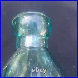 Mint Antique San Francisco Soda Bottle Clean Old Northern California Hutchinson