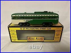 Mth San Francisco California Pcc Electric Street Car Trolley! O Gauge Train