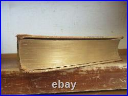 Old 1848-1859 HISTORY OF CALIFORNIA Leather Book 1888 GOLD RUSH MINING TREE CALF