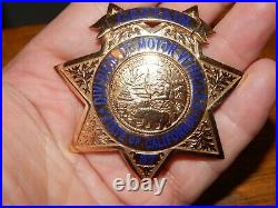 Old California Police Captain State DMV #37 Irvine & Jachens San Francisco Ca