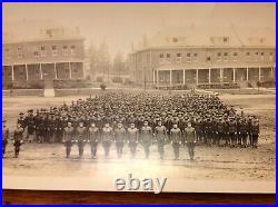 Rare Large Antique 1917 Army Photograph. Presidio Of San Francisco, California