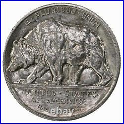 Raw 1925-S California 50C Uncertified Ungraded San Francisco Silver Half Dollar