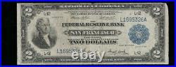 SC 1918 $2 Fr. 778 Battleship KEY DISTRICT San Francisco, California