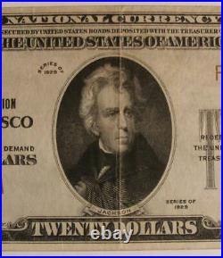San Francisco California CA 1929 $20.00 Ch. 9655 The Bank of California National
