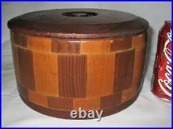 San Francisco California Redwood Forest Wood Pantry Storage Kitchen Home Art Box