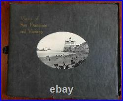 San Francisco & Vicinity California rare view book c. 1900 nice scenery Chinese