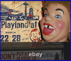 San Francisco amusement park coinop Authentic. Playland Laughing Sal Working