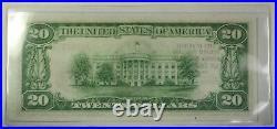 Series of 1929 $20 National Banknote San Francisco California #13044 (CU) A WW