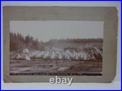 Six (6) Cabinet Card Photos San Francisco California Presidio Reservation 1890s