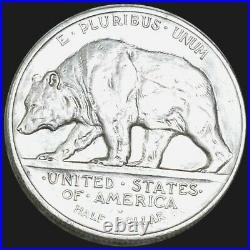 Stunning 1925 S California Jubilee Commemorative BU or UNC Half Dollar