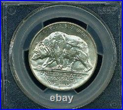 U. S. 1925-s California Half-dollar Silver Uncirculated Coin Certified Pcgs-ms64
