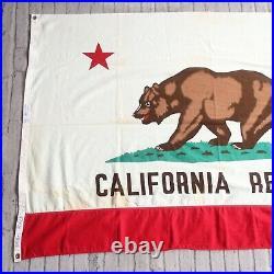 Vintage California Republic Bear State Flag 4 x 6 Paramount San Francisco
