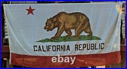 Vintage California Republic Bear State Flag 5 x 8 Paramount San Francisco