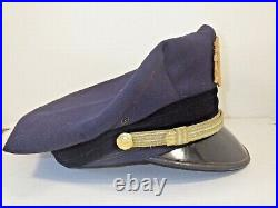 Vintage & Obsolete Sfpd San Francisco Police Dept Lieutenant's Hat Very Good Cnd