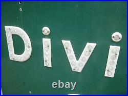 Vintage Sign Reflectors DIVISADERO STREET San Francisco STATE OF CALIFORNIA Huge