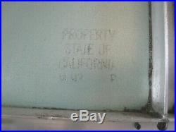 Vintage Sign VAN NESS AVENUE San Francisco STATE OF CALIFORNIA Huge 60 X 30