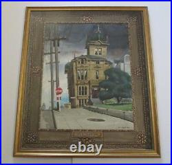 William Edie Painting Early California San Francisco Urban Wpa Regionalism