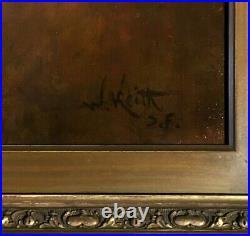 William Keith (1838-1911) San Francisco, California c. 1900 Oakland Oil Painting