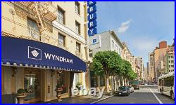 Wyndham Canterbury at San Francisco, CA 3 BR Presidential Feb 8 12 4 NTS